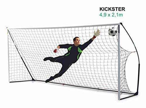 QUICKPLAY Kickster Academy Tragbares 2,4 x 1,5m Fußballtor - 9