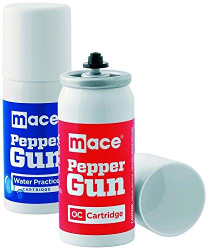 Mace Pfefferspray Wasser und OC-kartusche für Pepper Gun im Set, 204021