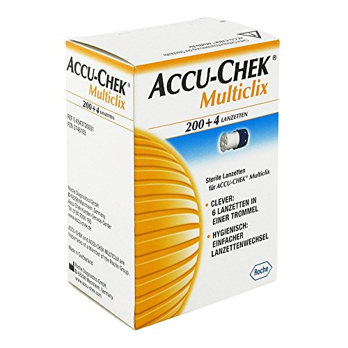 Accu Chek Multiclix Lanzetten 204 stk