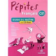Français CE1 Pépites : Guide du maître (1Cédérom)