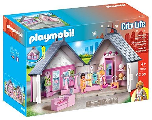 Playmobil 9113 Take-Along Modegeschäft , Aufklapp-Spiel-Box