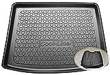 ZentimeX Z3367414 Diamanten-Design Kofferraumwanne fahrzeugspezifisch + Klett-Organizer (Laderaumwanne, Kofferraummatte)