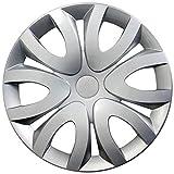 Radkappen / Radzierblenden 15 Zoll MIKA SILBER (Farbe wählbar) passend für fast alle Fahrzeugtypen – universal