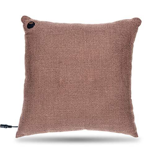Zhlxz cuscino massaggiante, elettronico massaggiatore cervicale shiatsu, collo e schiena neck back massager per ufficio, casa, auto,a