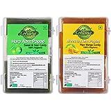 Kohana international 100% Hygienic Hara Aam Papad & Meetha Aam Papad -400Gm