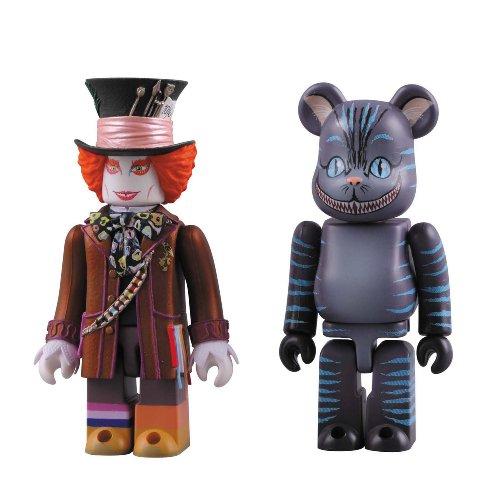 KUBRICK MAD HATTER & BE@RBRICK CHESHIRE CAT SET? (Cheshire Cat Und Mad Hatter)