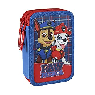 Plumier Patrulla Canina Paw Patrol triple