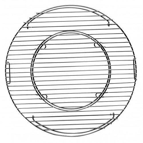 Tepro Grillrost, Hauptrost 47 cm Rost System rund, chrome, 43,5 x 43,5 x 4,5 cm, 8569