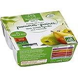 bout'chou Purée de fruits bio Pommes-Poires sans sucre ajoutés ( Prix unitaire ) - Envoi Rapide Et Soignée