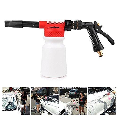 powstro Auto Reinigung Schaumstoff Gun Multifunktional foamaster Gun Wasser waschen Seife Shampoo Spritze 900ml für Van Motorrad Fahrzeug -