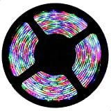5 meters 300 SMD LED strip RGB with remote and power supply
