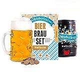 Oktoberfest Special Edition Bierbrauset zum selber brauen | Festbier im 5 Liter Fass | In 7 Tagen gebraut | Tolles Geburtstagsgeschenk für Männer | Braufässchen