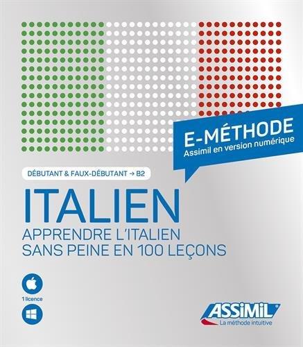 Coffret E-Methode Italien