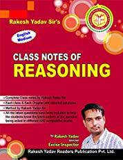 Rakesh Yadav Sir's Class Notes Reasoning (Hindi)