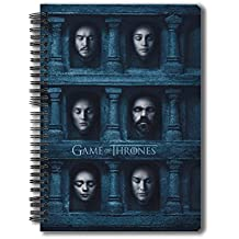 """MC SID RAZZ Redwolf Official """"Game Of Thrones """" - Hall Of Faces - Notebook , Licensed By Hbo (Home Box Office) , USA"""