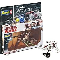 Revell–Star Wars–Model Set Republic Gunship, en Kit Modelo con Base Accesorios, fácil Pegar y para pintarlas, Escala 1:172  (63613)