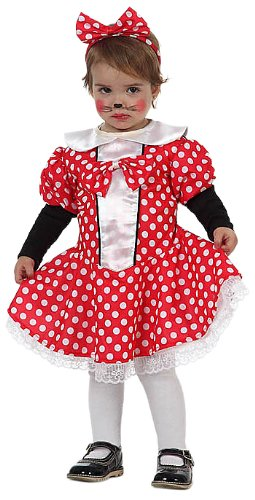 Kostüm Altes Baby Monate 3 0 - Atosa 10486 - Verkleidung Minni Mouse Baby Gr. 50-62  (0-6 MONATE)