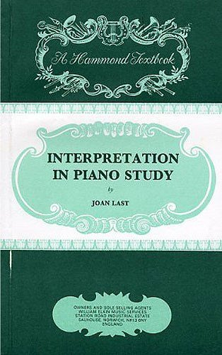 Joan Last Interpretation In Piano Study Pdf Download Tarkmack