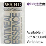 500ml Wahl Showman Oatmeal Essence Shampoo Dog/ Horse Grooming