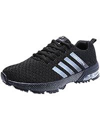 Wealsex Cojín De Aire Zapatos Para Correr En Montaña Asfalto Aire Libre Deportes Zapatillas De Running Para Hombre