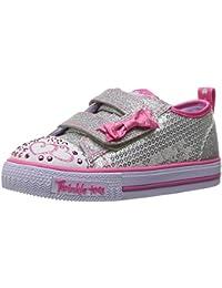 Skechers Baby Mädchen Shuffles-Itsy Bitsy Sneaker