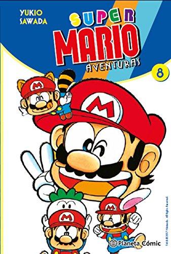 Super Mario nº 08: Aventuras (Manga Kodomo) por Yukio Sawada