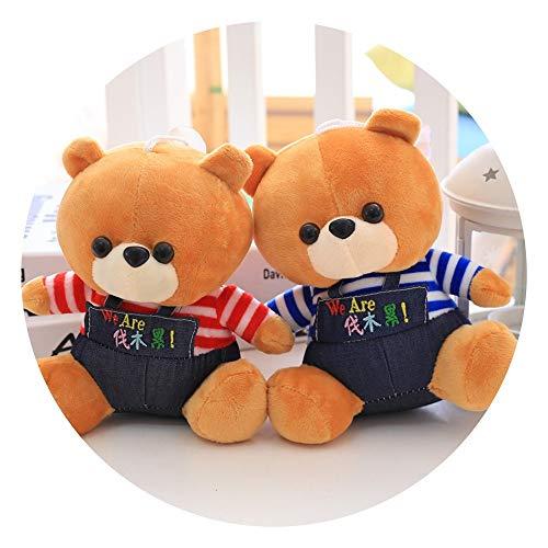 LIULAOHAN Plüschtiere, PP Baumwolle gefüllt vor Ort werfen Spiel Plüsch kleine Geschenke, geeignet for Hochzeitsfeiern oder Einkaufszentren, um Puppen zu fangen (Color : Little Yellow Bear) (Spiel Bear Little)