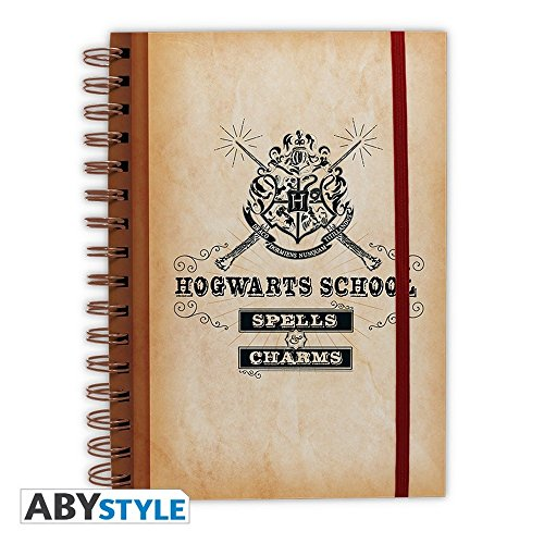 Cuaderno de Harry Potter «Hogwarts School»