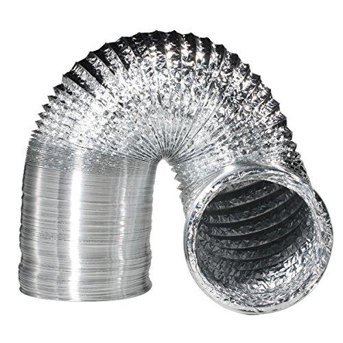 Rohr Aluminium flexibles 152mm (10m)
