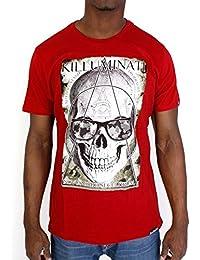 Tshirt Monsterpiece Killuminati Camo Rouge