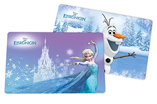 Disney Frozen Tischset - Disney Frozen 2 Stück Platzset, Kunststoff,