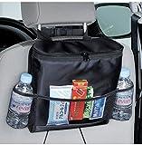 Demana Universal Autositz Rückseiten Organisator,Multi-Pocket-Spielraum-Speicher-Beutel Kühle Heiße Thermal-Tasche für Imbiss Getränk Zeitschriften