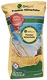Ornigold Hühnerfutter 25 kg mit Weizen, Bruchmais, Gerste, Hafer und Muschelkalk - Premium Ergänzungsfutter - Körnermischfutter mit Legemehl kombinierbar für Alleinfutter GVO-Frei !