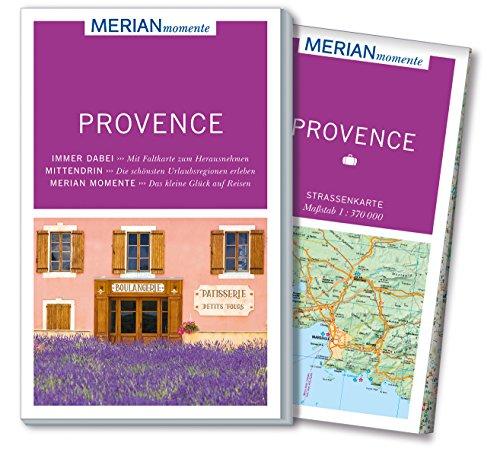 Preisvergleich Produktbild MERIAN momente Reiseführer Provence: Mit Extra-Karte zum Herausnehmen