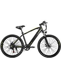"HWOEK Montaña Bicicleta Electrica, 26"" Ciudad Bicicleta Eléctrica de Viaje 48V 10AH Batería de Litio Extraíble Oculta Doble Freno de Disco 27 Velocidades Adulto Unisexo"