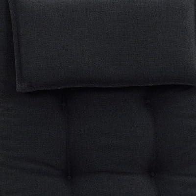 Bankauflagen 140 x 47 cm Miami 50148-52 in schwarz - Auflage ohne Bank von Möbelträume auf Gartenmöbel von Du und Dein Garten