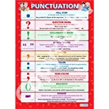 Punctuation |English Language Educational Wall Chart/Poster in high gloss paper (A1 840mm x 584mm)