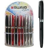 Swing Writing - Bolígrafo de aluminio con clip