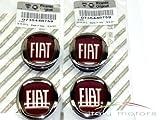 Original Fiat Grande Punto Felgendeckel Nabenkappen Radkappen - Set 4 Stück - 735448759
