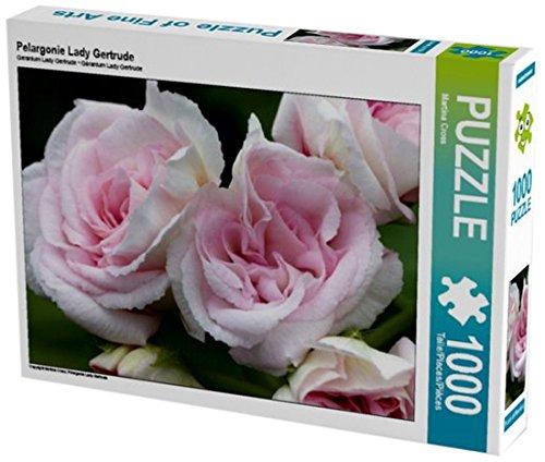 Preisvergleich Produktbild Pelargonie Lady Gertrude 1000 Teile Puzzle quer (CALVENDO Natur)