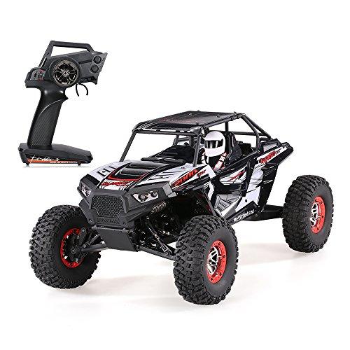 Goolsky WLtoys 10428-B2 1:10 4WD Elektro Rock Crawler Off Road Buggy Wüste Baja RC Auto RTR - Crawler 1 10 Rtr Rc Rock