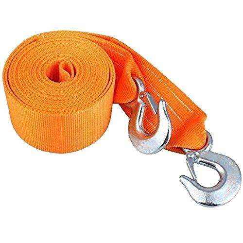 SELECTEC Heavy Duty Abschleppseil Tow Gürtel bis zu 8 Tonnen 6 Meter lang (Kommt in Tragetasche mit Griff)