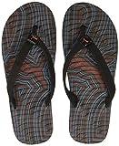 Puma Men's Prisma Flip IDP High Risk Red, Hawaiian Ocean and Puma Black Flip Flops Thong Sandals - 8 UK/India (42 EU)(36652804)