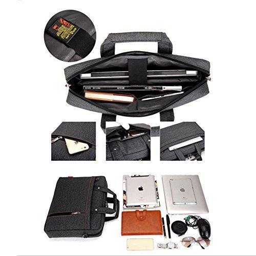 losorn zpy 13 17 zoll laptop tasche mit schultergurt. Black Bedroom Furniture Sets. Home Design Ideas