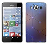 fubaoda Nokia MicroLumia 950 Hülle Case, [Elektromagnetischer Diamant] Nokia MicroLumia 950 Case Hülle Premium Handyhülle hülle Case Schutzhüllen TPU Case für Nokia MicroLumia 950