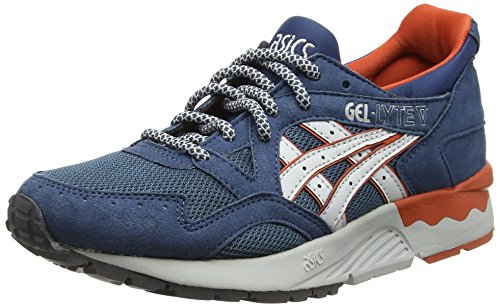 Asics Gel-Lyte V, Baskets Basses Mixte Adulte Bleu (Legion Blue/Soft Grey 4510)