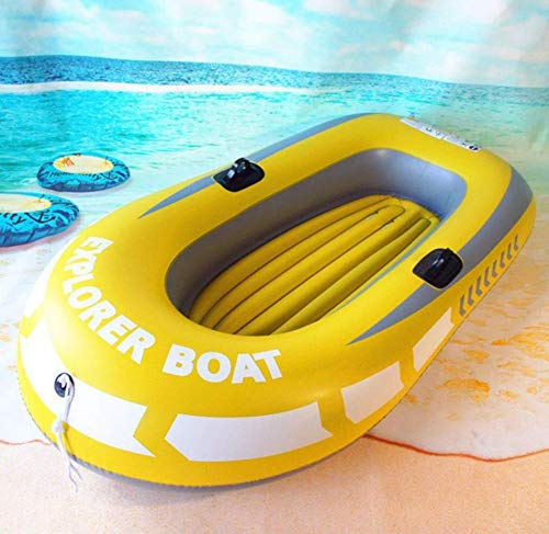 Schlauchboot, Angler Bay Schlauchboot Set 2 Personen Schlauchboot Kajak Schlauchboot zum Angeln Treiben Tauchen,Inflatableboat
