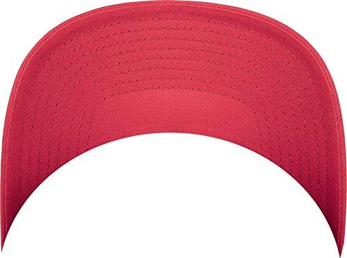 Flexfit 5-Panel Retro Trucker Cap Kape red