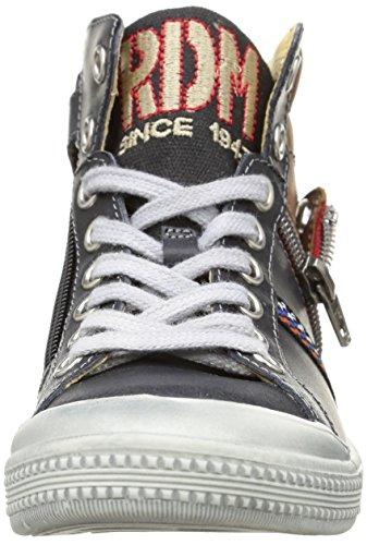 Ramdam Mutsu, Sneakers Hautes garçon Bleu (Vts Marine/Fauve Dpf/Malaga)