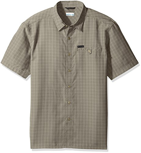 Columbia herren Declination Trail Ii Big & Tall Short Sleeve Shirt  Sport-T-Shirt  -  grau -  (Button-down-hemd And Tall Big)